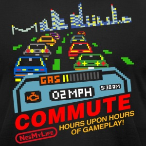 Commute - NES my life T-Shirts - Men's T-Shirt by American Apparel