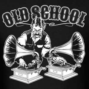 OLD SCHOOL DJ T-Shirts - Men's T-Shirt