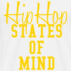 hip hop states of mind T-Shirts - Men's Premium T-Shirt
