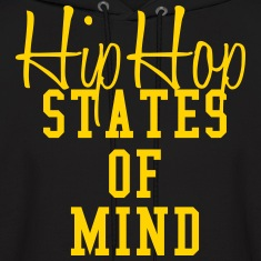 hip hop states of mind Hoodies