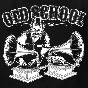 OLD SCHOOL DJ Kids' Shirts - Kids' T-Shirt