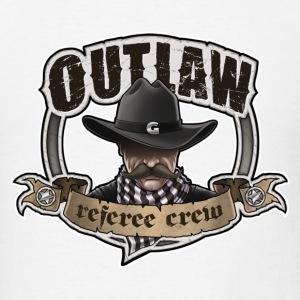 outlaw Referee Crew - Men's T-Shirt