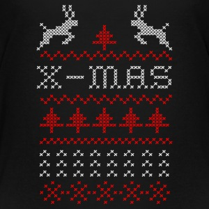 X-mas ugly sweater design for green Kids' Shirts - Kids' Premium T-Shirt