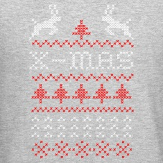 X-mas ugly sweater design for green Long Sleeve Shirts