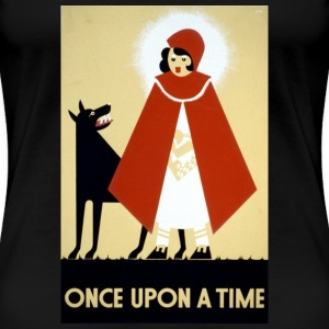 Little Red Riding Hood Women's T-Shirts - Women's Premium T-Shirt