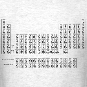 Periodic Table Blk - Men's T-Shirt