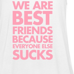 Best Friends Tanks - Women's Flowy Tank Top by Bella
