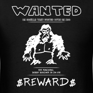 Wanted Gorilla - The Waterboy - Dark T-Shirts - Men's T-Shirt