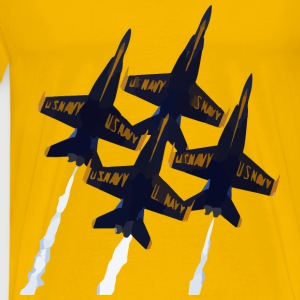 Us Navy Planes - Men's Premium T-Shirt