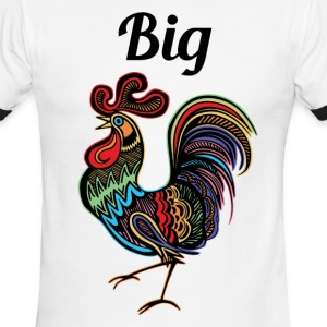 Big Rooster - Men's Ringer T-Shirt
