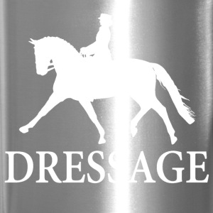Dressage Horse - white Mugs & Drinkware - Travel Mug