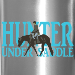 Stock Breed: Hunter Under Saddle - turquoise Mugs & Drinkware - Travel Mug