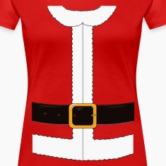 Funny Santa Claus / Christmas costume Women's T-Shirts