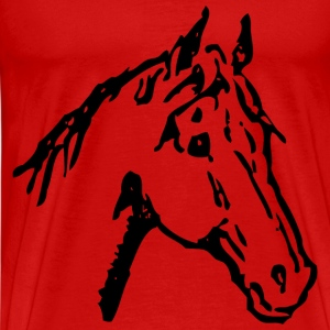 Horse Head - Men's Premium T-Shirt