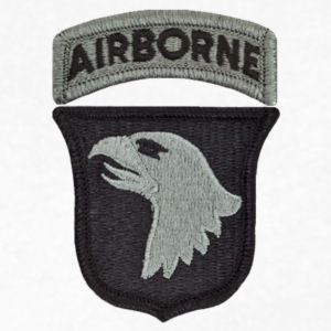 101st Airborne Division T-Shirts - Men's V-Neck T-Shirt by Canvas