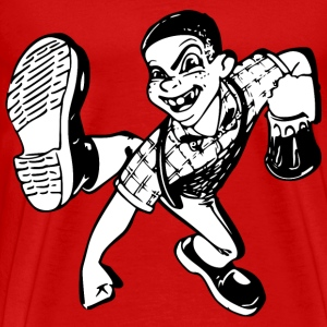 Dancing Skinhead - Men's Premium T-Shirt