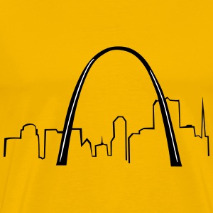 St Louis Gateway Arch - Men's Premium T-Shirt