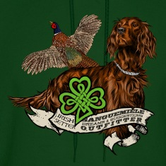irish setter Hoodies