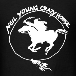 New Neil Young Tee & and Crazy Horse - Men's T-Shirt