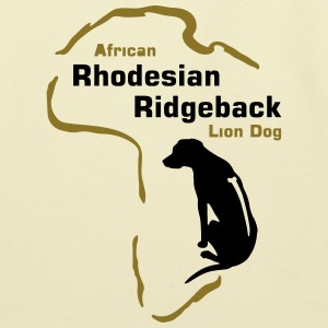 Rhodesian Ridgeback - Africa Bags & backpacks - Eco-Friendly Cotton Tote