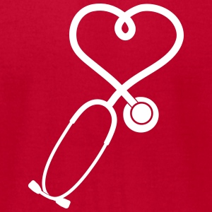 stethoscope_2_sp7 T-Shirts - Men's T-Shirt by American Apparel