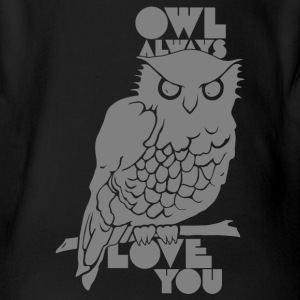 Owl Always Love You Baby & Toddler Shirts - Short Sleeve Baby Bodysuit