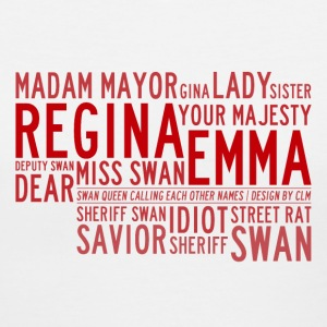 Swan Queen Nicknames v1 - Women's V-Neck T-Shirt