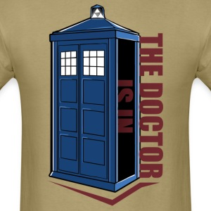 The Doctor Is In Box T-Shirts - Men's T-Shirt