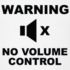 Warning No Volume Control