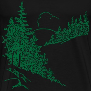 Pines - Men's Premium T-Shirt