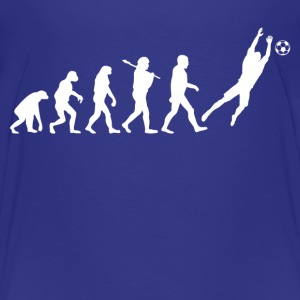 Evolution of Goalkeeper Kids' Shirts - Kids' Premium T-Shirt