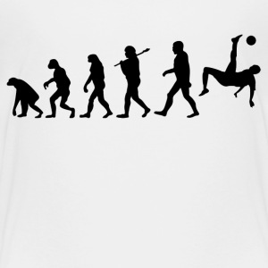 Evolution Of Soccer Kids' Shirts - Kids' Premium T-Shirt