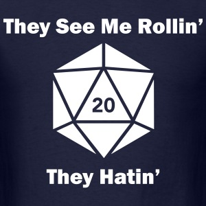 Dice Hatin' - Men's T-Shirt