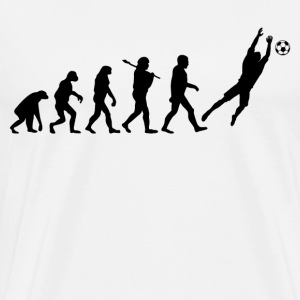 Evolution of Goalkeeper T-Shirts - Men's Premium T-Shirt