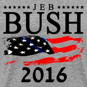 Jeb Bush 2016 T-Shirts - Men's Premium T-Shirt