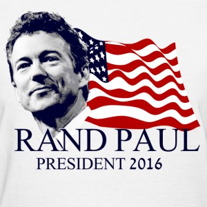 Rand Paul for President Women's T-Shirts - Women's T-Shirt