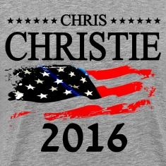 Chris Christie 2016 T-Shirts