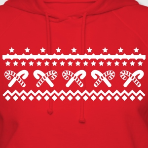 christmas candy canes Hoodies - Women's Hoodie
