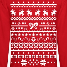 christmas reindeer Long Sleeve Shirts