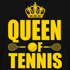 Queen of Tennis  Hoodies