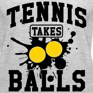 Tennis takes balls Tanks - Women's Premium Tank Top