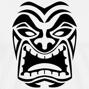 Tribal Mask T-Shirts - Men's Premium T-Shirt