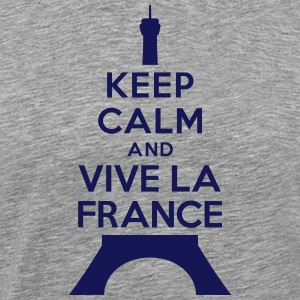 Keep calm vive la France T-Shirts - Men's Premium T-Shirt