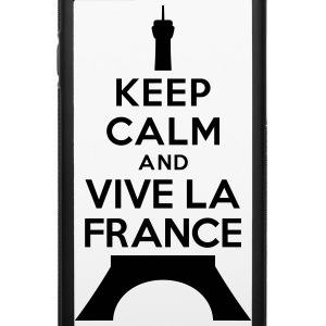 Keep calm vive la France Accessories - iPhone 6/6s Rubber Case