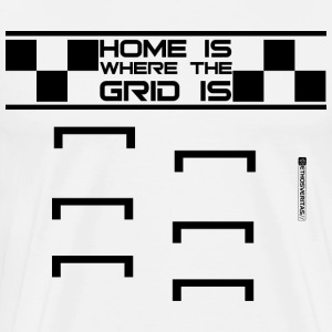 HomeGrid_black T-Shirts - Men's Premium T-Shirt