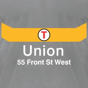 Union Station - Men's T-Shirt by American Apparel