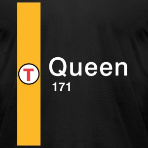 Queen Street Station - Men's T-Shirt by American Apparel