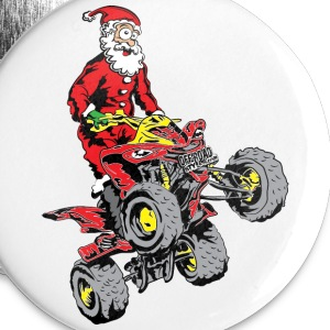 Santa Quad ATV Buttons - Large Buttons