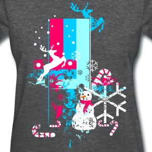 Christmas Stream - Women's T-Shirt