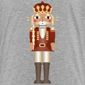 A nutcracker as a king with crown and scepter Kids' Shirts - Kids' Premium T-Shirt